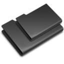 128x128px size png icon of Icons Black
