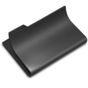 128x128px size png icon of Open Black