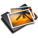 128x128px size png icon of Pictures Black