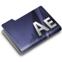 128x128px size png icon of Adobe After Effects CS3 Overlay