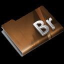 128x128px size png icon of Adobe Bridge CS3 Overlay
