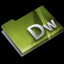 128x128px size png icon of Adobe Dreamweaver CS3 Overlay
