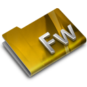 128x128px size png icon of Adobe FireWorks CS3 Overlay