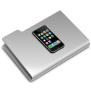 128x128px size png icon of iPhone Folder
