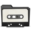 128x128px size png icon of cassette 2