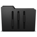 128x128px size png icon of equalizer 2