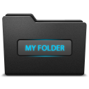 128x128px size png icon of myfolder