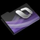 128x128px size png icon of Entourage Dark Overlay