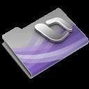 128x128px size png icon of Entourage Overlay