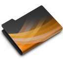 128x128px size png icon of Powerpoint Dark