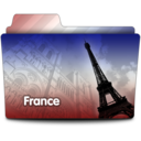 128x128px size png icon of France