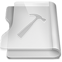 128x128px size png icon of Aluminium developer