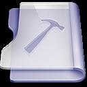 128x128px size png icon of Purple developer