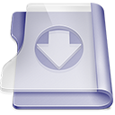 128x128px size png icon of Purple download