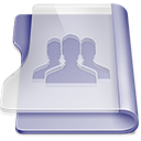 128x128px size png icon of Purple group