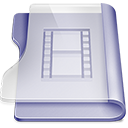 128x128px size png icon of Purple movies