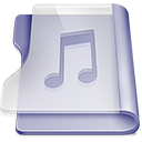 Purple music Icon
