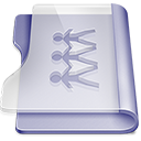 128x128px size png icon of Purple sharepoint