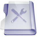 128x128px size png icon of Purple utilities