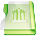128x128px size png icon of Summer library