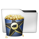 128x128px size png icon of Movies ALT