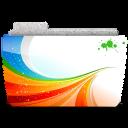 128x128px size png icon of Folder Season X