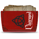 128x128px size png icon of Folder TV CHARMED
