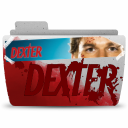 128x128px size png icon of Folder TV DEXTER