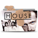 128x128px size png icon of Folder TV DRHOUSE