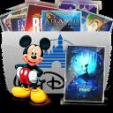 128x128px size png icon of Folder TV Disney