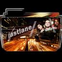 128x128px size png icon of Folder TV FASTLANE