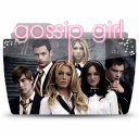 128x128px size png icon of Folder TV GOSSIP GIRL