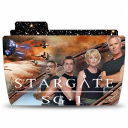 128x128px size png icon of Folder TV STARGATE