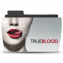 128x128px size png icon of Folder TV TRUEBLOOD