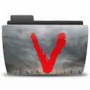 128x128px size png icon of Folder TV V