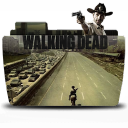Folder TV WALKING dead Icon