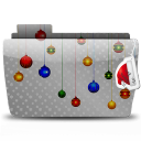 128x128px size png icon of Folder Xmas To You