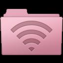 128x128px size png icon of AirPort Folder Sakura