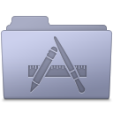Applications Folder Lavender Icon