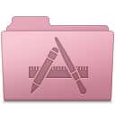 128x128px size png icon of Applications Folder Sakura