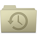 128x128px size png icon of Backup Folder Ash