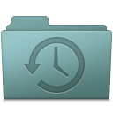 128x128px size png icon of Backup Folder Willow