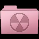 128x128px size png icon of Burnable Folder Sakura