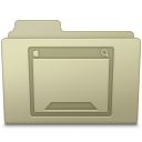 Desktop Folder Ash Icon