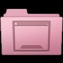 128x128px size png icon of Desktop Folder Sakura