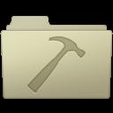 128x128px size png icon of Developer Folder Ash