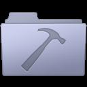 128x128px size png icon of Developer Folder Lavender