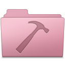 128x128px size png icon of Developer Folder Sakura