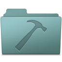 128x128px size png icon of Developer Folder Willow