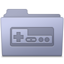 Game Folder Lavender Icon